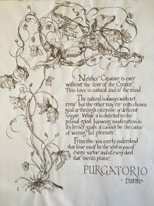 Purgatorio- Excerpt by Dante